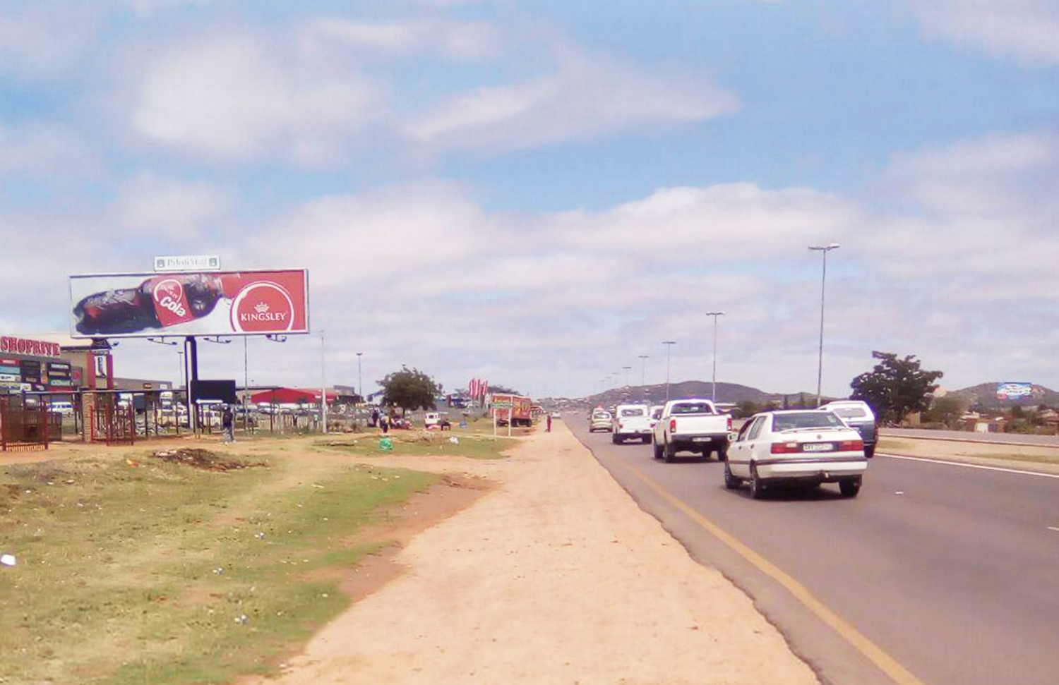 Billboard at Paledi Mall Mankweng Limpopo. Advertise at Paledi Mall Limpopo.