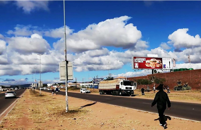 Billboard at Paledi Mall Mankweng Limpopo. Advertise at Paledi Mall Limpopo.